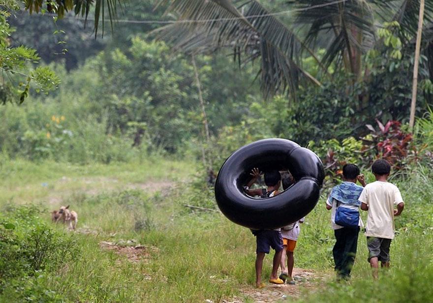 Los niños de Filipinas