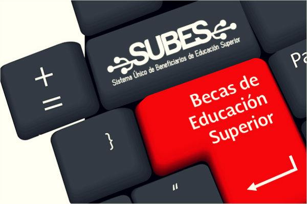 subes - Becas México